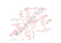 CRANKSHAFT for Ducati Monster 600 2001