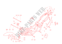 FRAME for Ducati Monster 600 2001