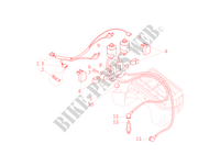 IGNITION SYSTEM for Ducati Monster 600 2001