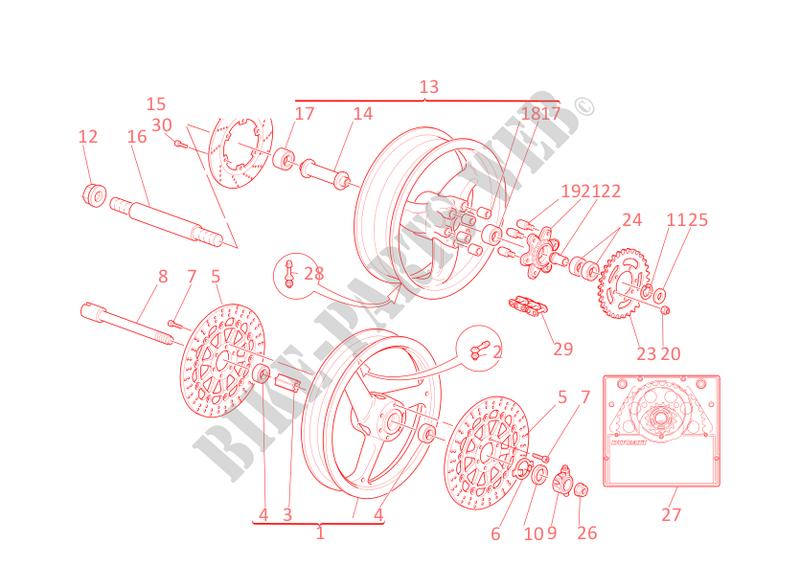 Ducati Monster 900 Parts Catalog