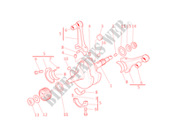 CRANKSHAFT for Ducati Monster S4 2001
