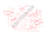 GEAR CHANGE MECHANISM for Ducati Monster S4 2001