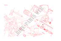 GEAR CHANGE MECHANISM for Ducati 1299 Panigale S 2015