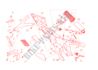 REAR SUBFRAME for Ducati 1199 Panigale 2014