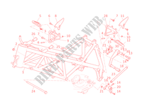 FRAME for Ducati 848 EVO 2012