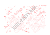 GEAR CHANGE MECHANISM for Ducati 848 EVO 2012
