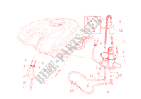 FUEL SYSTEM for Ducati 1198 SP 2011