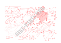 SEAT for Ducati 1198 SP 2011