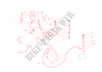 CLUTCH MASTER CYLINDER for Ducati 848 EVO 2011