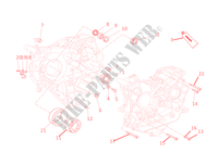 HALF CRANKCASES for Ducati 1198 2010