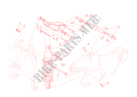 REAR SUSPENSION for Ducati 1198 2010