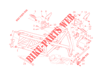 FRAME for Ducati 1098 R Bayliss 2009