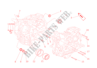 HALF CRANKCASES for Ducati 1098 R Bayliss 2009