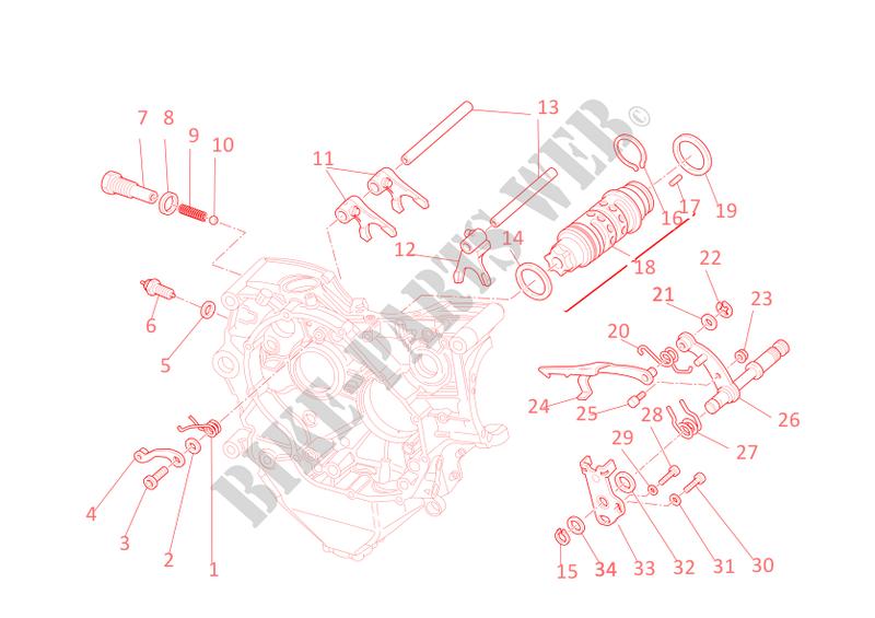 ducati gear change mechanism for ducati 1198 2009 # ducati online  genuine on ducati 748 wiring diagram