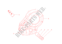 CLUTCH COVER for Ducati 1098 S 2008