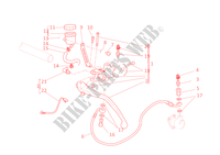 CLUTCH MASTER CYLINDER for Ducati 1098 S 2008