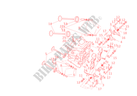 HORIZONTAL CYLINDER HEAD for Ducati 1098 S 2008