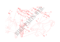 REAR SUSPENSION for Ducati 1098 S 2008