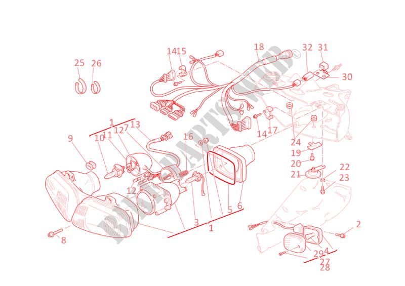 748 ducati ignition wiring diagram headlight for ducati 748 2002 ducati online genuine spare parts  headlight for ducati 748 2002 ducati