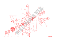 CONNECTING RODS for Ducati Diavel Carbon 2015
