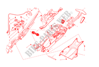 REAR SUBFRAME for Ducati Diavel Carbon 2015