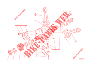 CONNECTING RODS for Ducati Diavel Carbon 2014