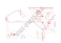 CLUTCH MASTER CYLINDER for Ducati Diavel 2012