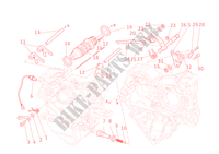 GEAR CHANGE MECHANISM for Ducati Diavel Carbon 2012