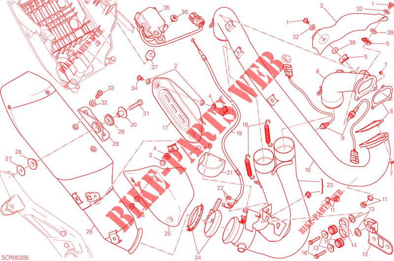 battery support for ducati hyperstrada 2013 # ducati online genuine spare  parts catalog  ducati