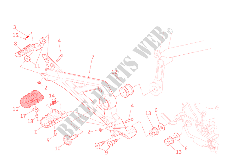 Ducati Motorcycle Hypermotard 2010 796 Right Foot Rests: Ducati Monster 796 Wiring Diagram At Anocheocurrio.co
