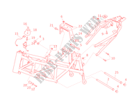 FRAME for Ducati Hypermotard 1100 EVO SP 2010