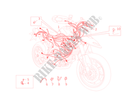 WIRING HARNESS for Ducati Hypermotard 1100 EVO SP 2010