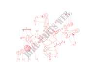 CONNECTING RODS for Ducati GT 1000 2008
