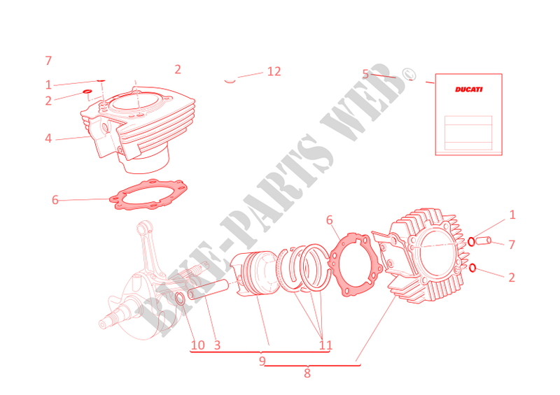 Ducati Motorcycle Supersport 2003 800ss Cylinders Pistons: Ducati 800ss Wiring Diagram At Goccuoi.net