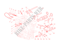 GEAR CHANGE MECHANISM for Ducati Multistrada 1100 2008