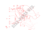 SEAT for Ducati Multistrada 1100 2008