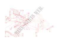 SWINGARM for Ducati Multistrada 1100 2008