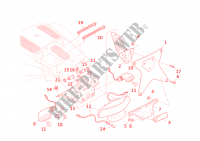 NUMBER PLATE HOLDER for Ducati Desmosedici RR 2008