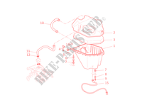 AIR INDUCTION & OIL BREATHER for Ducati Multistrada 620 2006
