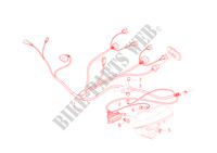 FRONT WIRING HARNESS for Ducati Multistrada 620 2006