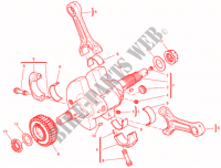 CONNECTING RODS for Ducati Supersport 939 2017