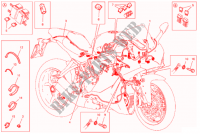 WIRING HARNESS for Ducati Supersport 939 2017
