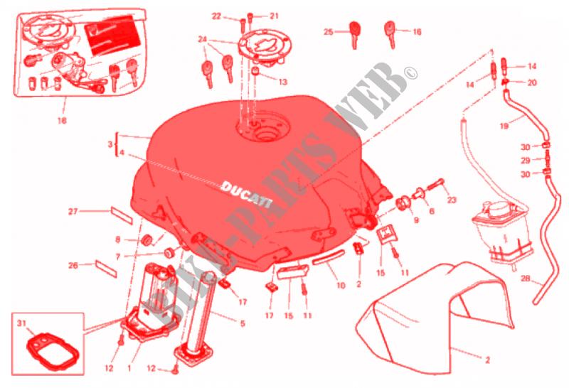 Fuel Tank Supersport 939 2017 Ducati Rhbikepartsducati: Ducati Supersport Wiring Diagram At Gmaili.net