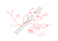 FRONT WIRING HARNESS for Ducati Multistrada 1000DS 2003