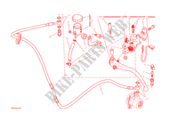 CLUTCH MASTER CYLINDER for Ducati Monster 1200 2015