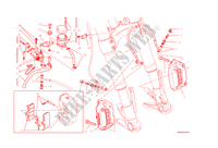 FRONT BRAKE SYSTEM for Ducati Monster 1200 2015