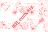 LABEL for Ducati Multistrada 1260 Touring 2019