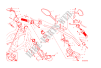 HANDLEBAR & CONTROLS for Ducati Monster 1200 S 2015