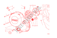 CLUTCH COVER for Ducati Monster 1200 2014