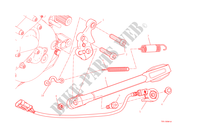 SIDE STAND for Ducati Monster 1200 2014